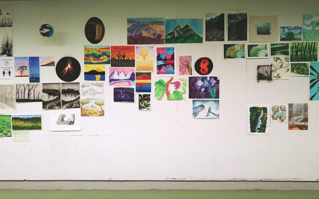 L'Escola engega la seva activitat cultural amb 3 exposicions simultànies