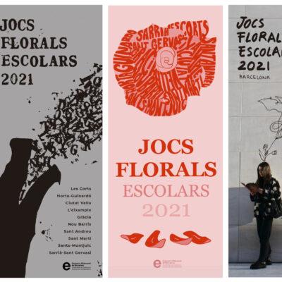 Guanyadors del concurs de cartells dels Jocs Florals Escolars