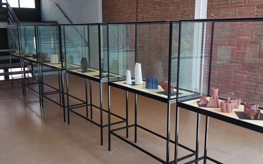 """Exposició """"Laboratori, disseny i fabricació ceràmica 3D"""""""